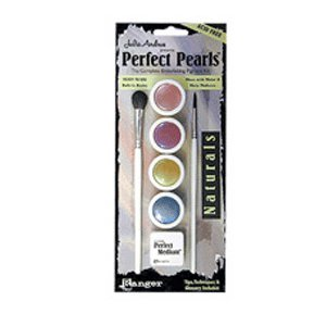 Ranger Ink - Julia Andrus - Perfect Pearls Embellishing Pigment Kit - Naturals