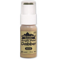 Ranger Ink - Adirondack Acrylic Paint Dabber - Metallics - Gold