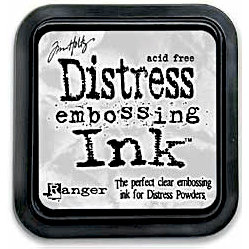 Ranger Ink - Tim Holtz Distress Ink Pads - Embossing Ink Clear