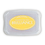 Tsukineko - Brilliance - Archival Pigment Ink Pad - Sunflower Yellow