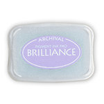 Tsukineko - Brilliance - Archival Pigment Ink Pad - Pearlescent Lavender
