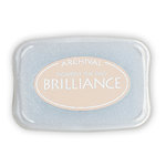Tsukineko - Brilliance - Archival Pigment Ink Pad - Pearlescent Beige