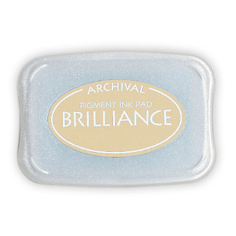 Tsukineko - Brilliance - Archival Pigment Ink Pad - Galaxy Gold