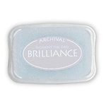 Tsukineko - Brilliance - Archival Pigment Ink Pad - Starlight Silver
