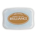 Tsukineko - Brilliance - Archival Pigment Ink Pad - Cosmic Copper
