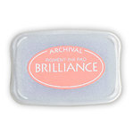 Tsukineko - Brilliance - Archival Pigment Ink Pad - Rocket Red Gold