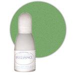 Tsukineko - Brilliance - Archival Pigment Ink Pad - Reinker - Pearlescent Thyme