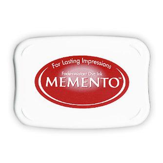 Tsukineko - Memento - Fade Resistant Dye Ink Pad - Rhubarb Stalk