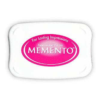 Tsukineko - Memento - Fade Resistant Dye Ink Pad - Rose Bud
