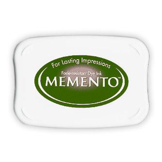 Tsukineko - Memento - Fade Resistant Dye Ink Pad - Cottage Ivy