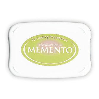 Tsukineko - Memento - Fade Resistant Dye Ink Pad - New Sprout