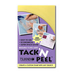 Tsukineko - Tack and Peel Sheet - Reusable Cling Sheet For Use With Acrylic Stamping