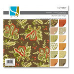 GCD Studios - Loverly Collection - 12 x 12 Double Sided Paper Collection Pack, CLEARANCE