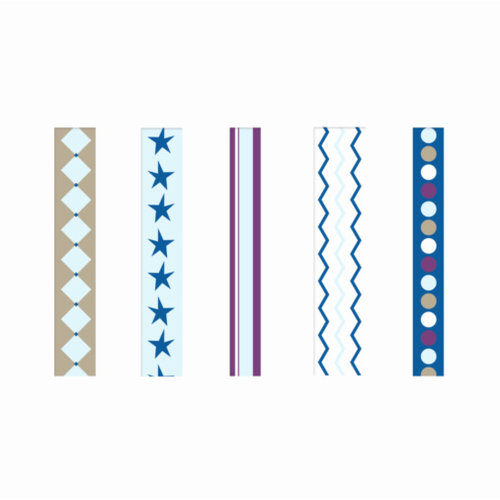 GCD Studios - Planes and Trains Collection - Self Adhesive Ribbon - Planes and Trains - Boy , CLEARANCE
