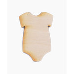 Grapevine Designs and Studio - Wood Shapes - Onesie
