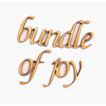 Grapevine Designs and Studio - Wood Shapes - Bundle of Joy