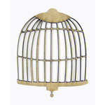 Grapevine Designs and Studio - Chipboard Shapes - Birdcage