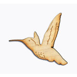 Grapevine Designs and Studio - Wood Shapes - Hummingbird
