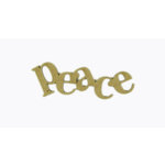 Grapevine Designs and Studio - Chipboard Shapes - Peace