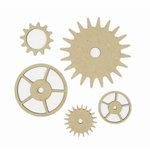 Grapevine Designs and Studio - Chipboard Shapes - Gears 2