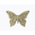 Grapevine Designs and Studio - Chipboard Shapes - Butterfly - Small
