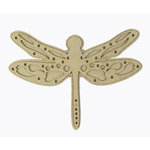 Grapevine Designs and Studio - Chipboard Shapes - Dragon Fly - Large