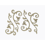 Grapevine Designs and Studio - Chipboard Shapes - Flourish