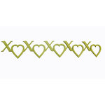 Grapevine Designs and Studio - Chipboard Shapes - XOXO Border
