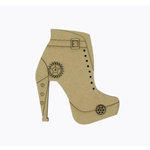 Grapevine Designs and Studio - Chipboard Shapes - Steampunk Boot - Small