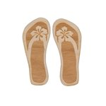 Grapevine Designs and Studio - Wood Shapes - Flip Flops