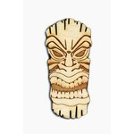 Grapevine Designs and Studio - Wood Shapes - Tiki