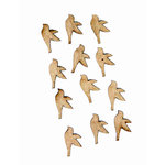 Grapevine Designs and Studio - Chipboard Shapes - Itty Bitty Pieces - Bird