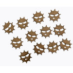Grapevine Designs and Studio - Chipboard Shapes - Itty Bitty Pieces - Sun
