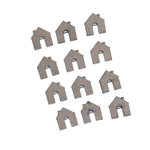 Grapevine Designs and Studio - Chipboard Shapes - Itty Bitty Pieces - House
