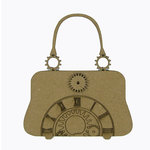 Grapevine Designs and Studio - Chipboard Shapes - Steampunk Purse with Gears