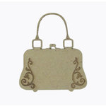 Grapevine Designs and Studio - Chipboard Shapes - Flourish Purse