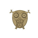 Grapevine Designs and Studio - Chipboard Shapes - Steampunk Owl