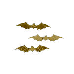 Grapevine Designs and Studio - Halloween - Chipboard Shapes - Bats - 3 Pack