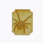 Grapevine Designs and Studio - Halloween - Wood Shapes - Spider on Postage