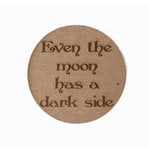 Grapevine Designs and Studio - Halloween - Chipboard Shapes - Even the Moon - Circle