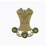Grapevine Designs and Studio - Chipboard Shapes - Steampunk Corset