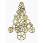 Grapevine Designs and Studio - Christmas - Chipboard Shapes - Gear Tree