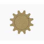 Grapevine Designs and Studio - Chipboard Shapes - Gear Frame - Small