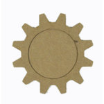 Grapevine Designs and Studio - Chipboard Shapes - Gear Frame - Large