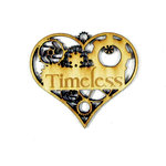 Grapevine Designs and Studio - Wood Shapes - Timeless Heart