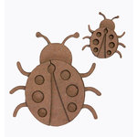 Grapevine Designs and Studio - Chipboard Shapes - Ladybug Set