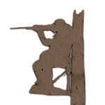 Grapevine Designs and Studio - Chipboard Shapes - Man Hunting