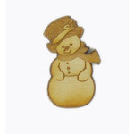 Grapevine Designs and Studio - Christmas - Wood Shapes - Snowman
