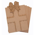 Grapevine Designs and Studio - Chipboard Shapes - Gift Book
