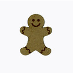 Grapevine Designs and Studio - Christmas - Chipboard Shapes - Gingerbread Man
